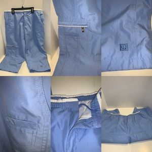Wilson vintage sky blue and white pants